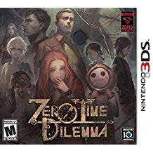 Zero Time Dilemma    NINTENDO 3DS
