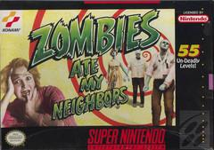 Zombies Ate My Neighbors BOXED COMPLETE    SUPER NINTENDO ENTERTAINMENT SYSTEM