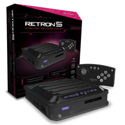 RetroN 5 Gaming Console (Black)    RETRO NEW HARDWARE