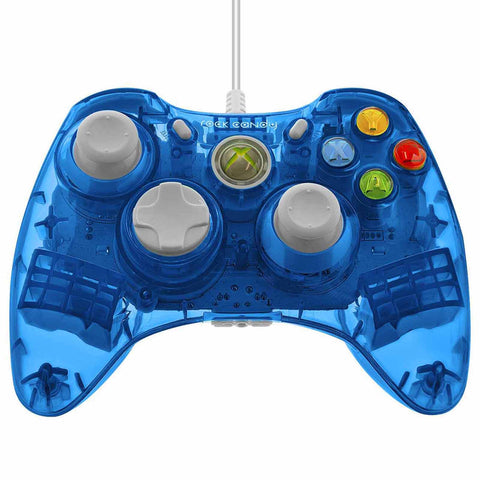 XB3 Rock Candy Wired Controller Blue (PDP)    XBOX 360 NEW CONTROLLER