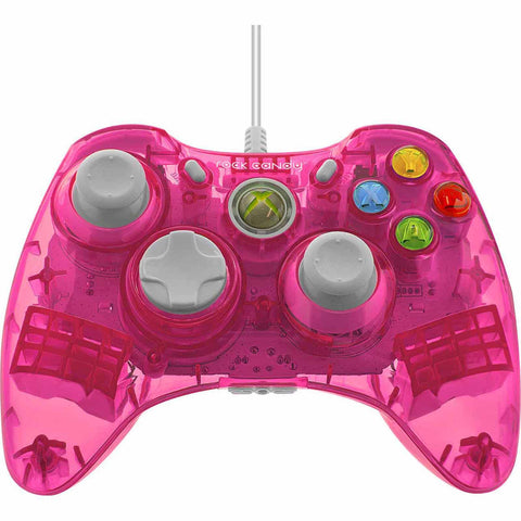 XB3 Rock Candy Wired Controller Pink (PDP)    XBOX 360 NEW CONTROLLER