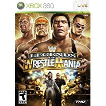 WWE Legends of Wrestlemania    XBOX 360
