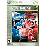 WWE Smackdown Vs Raw 2007    XBOX 360