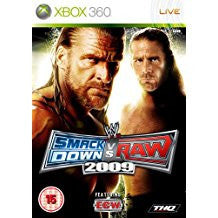 WWE Smackdown Vs Raw 09    XBOX 360