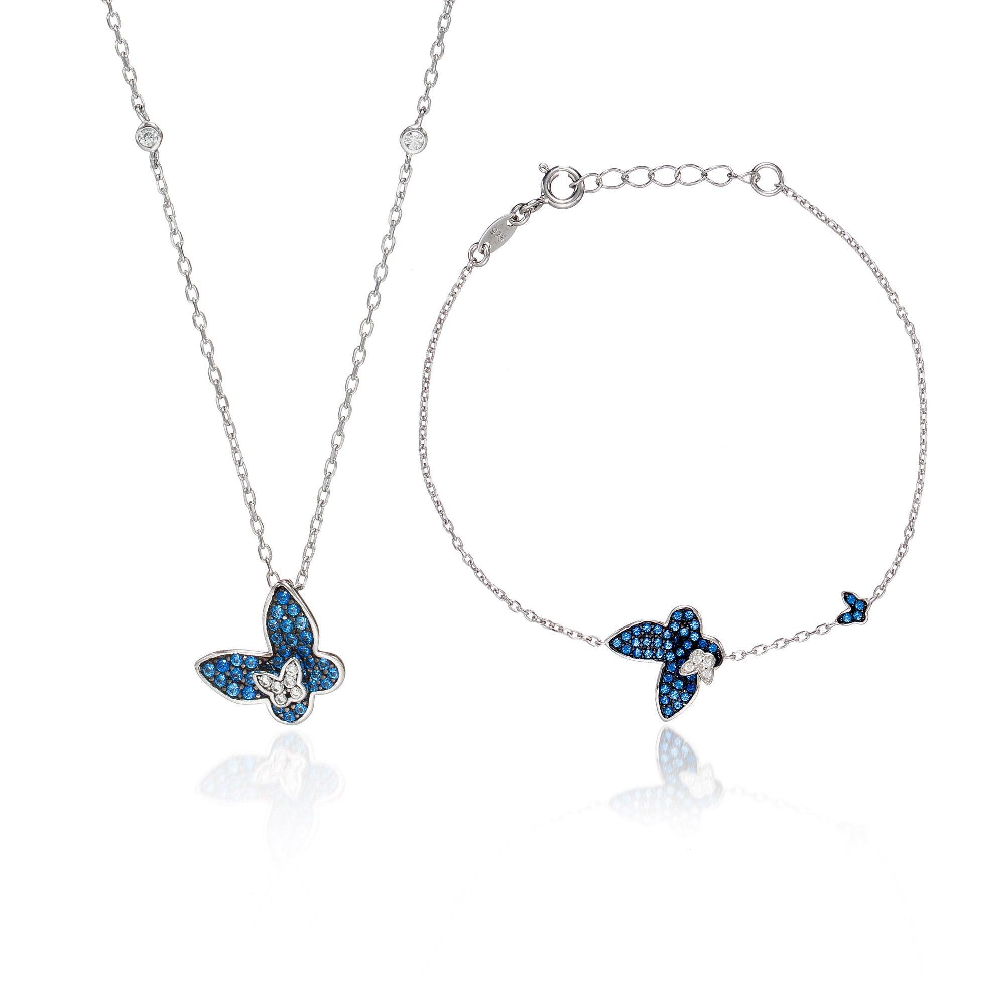 Blissful Blue Butterfly Set