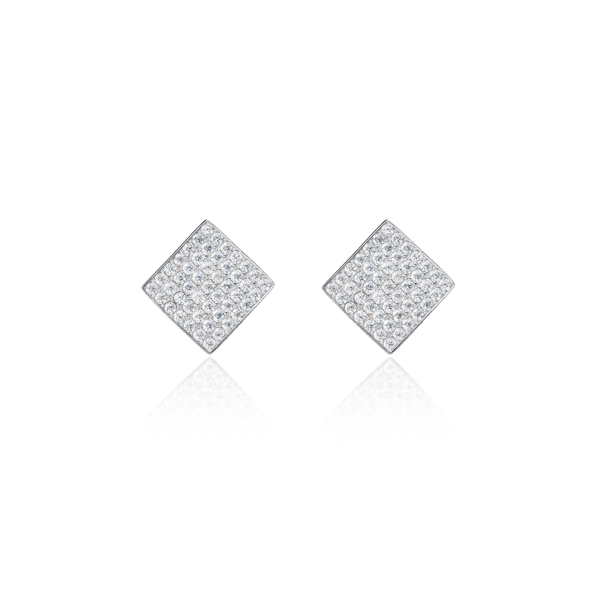 Diamond Plush Earrings