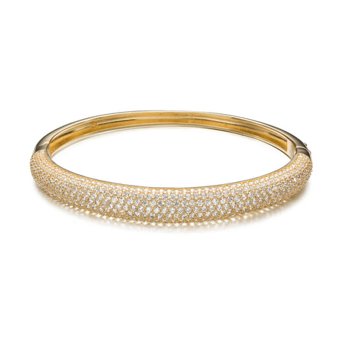 Bright Bliss Gold Bangle