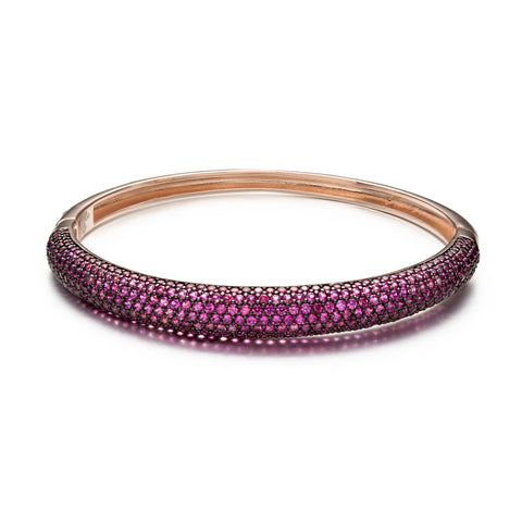 Bright Bliss Ruby Bangle
