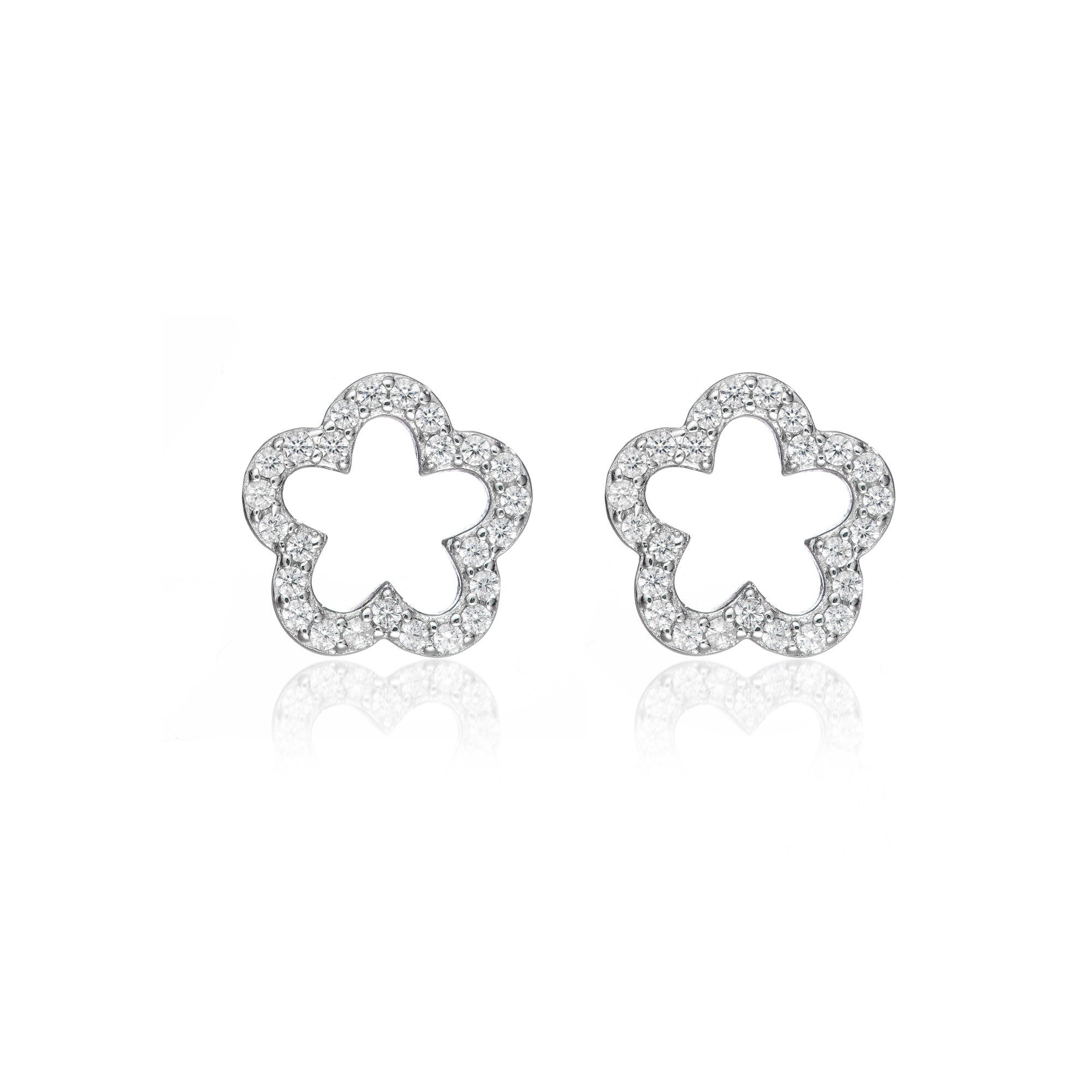Dazzling Flower Earrings