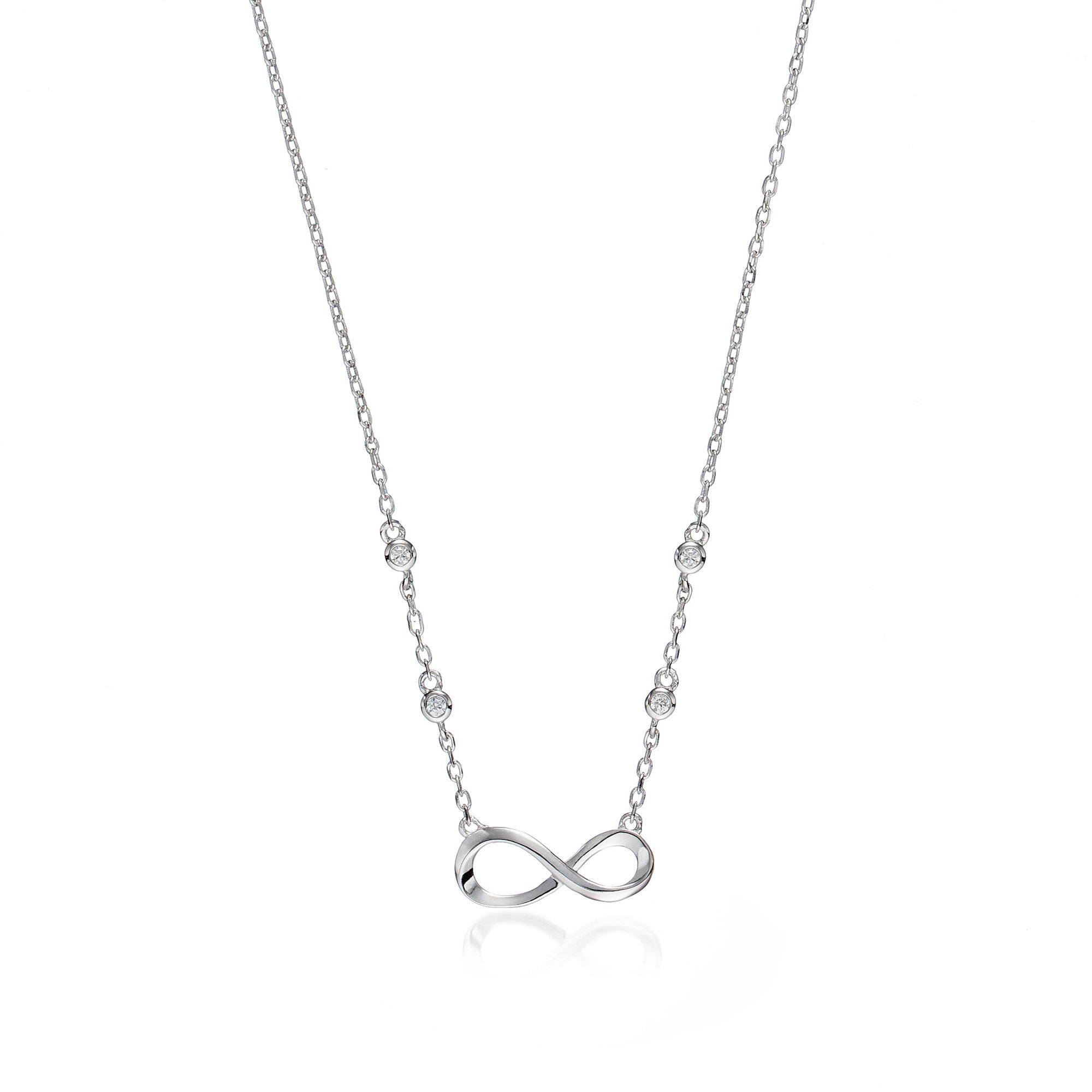 infinity products chain big necklace liya necklaces large pendant