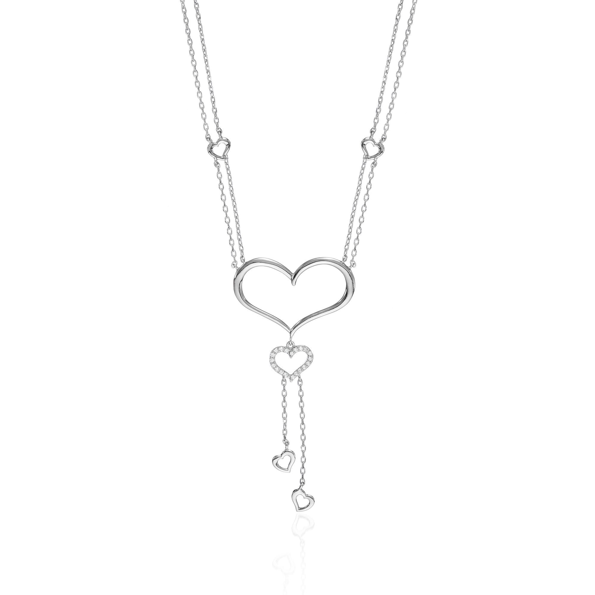 Amoré Silver Necklace
