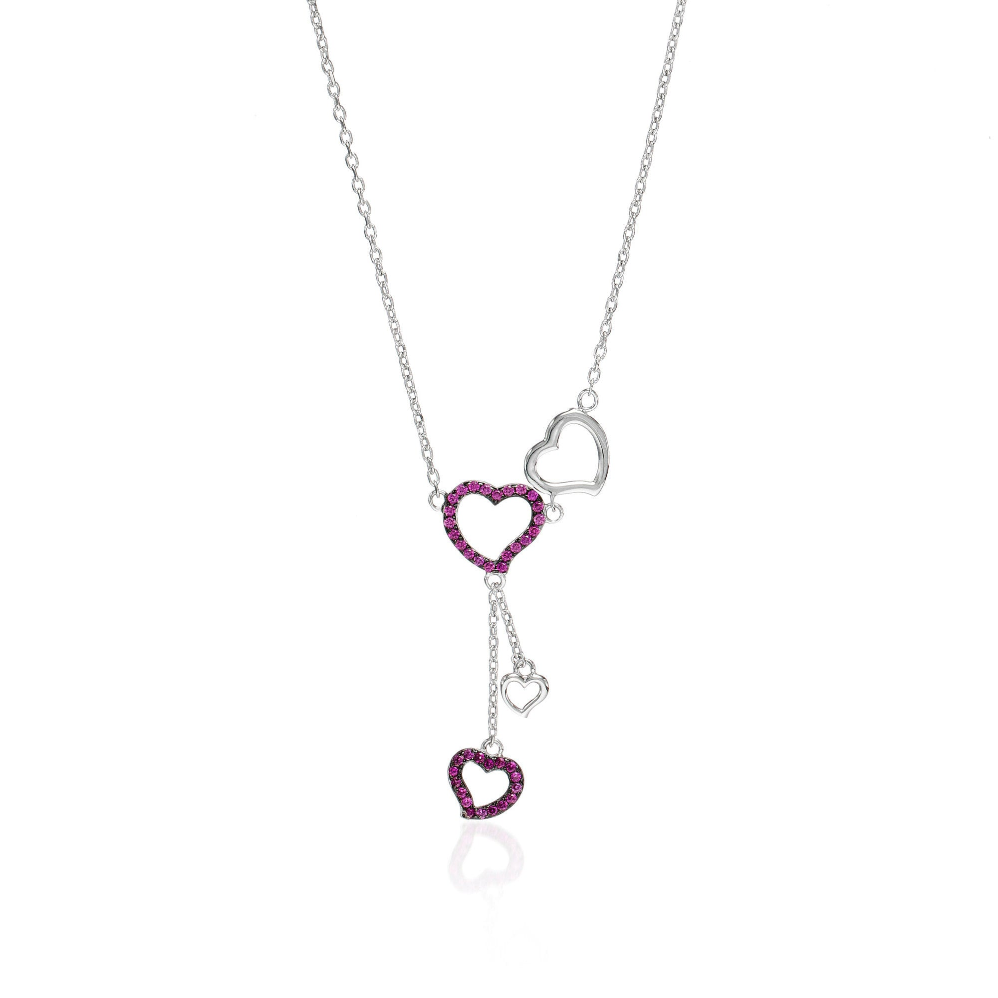 Love Struck Heart Necklace