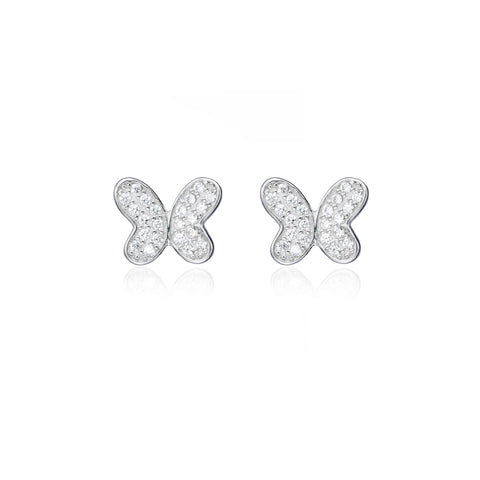 Butterfly Winged Stud Earring