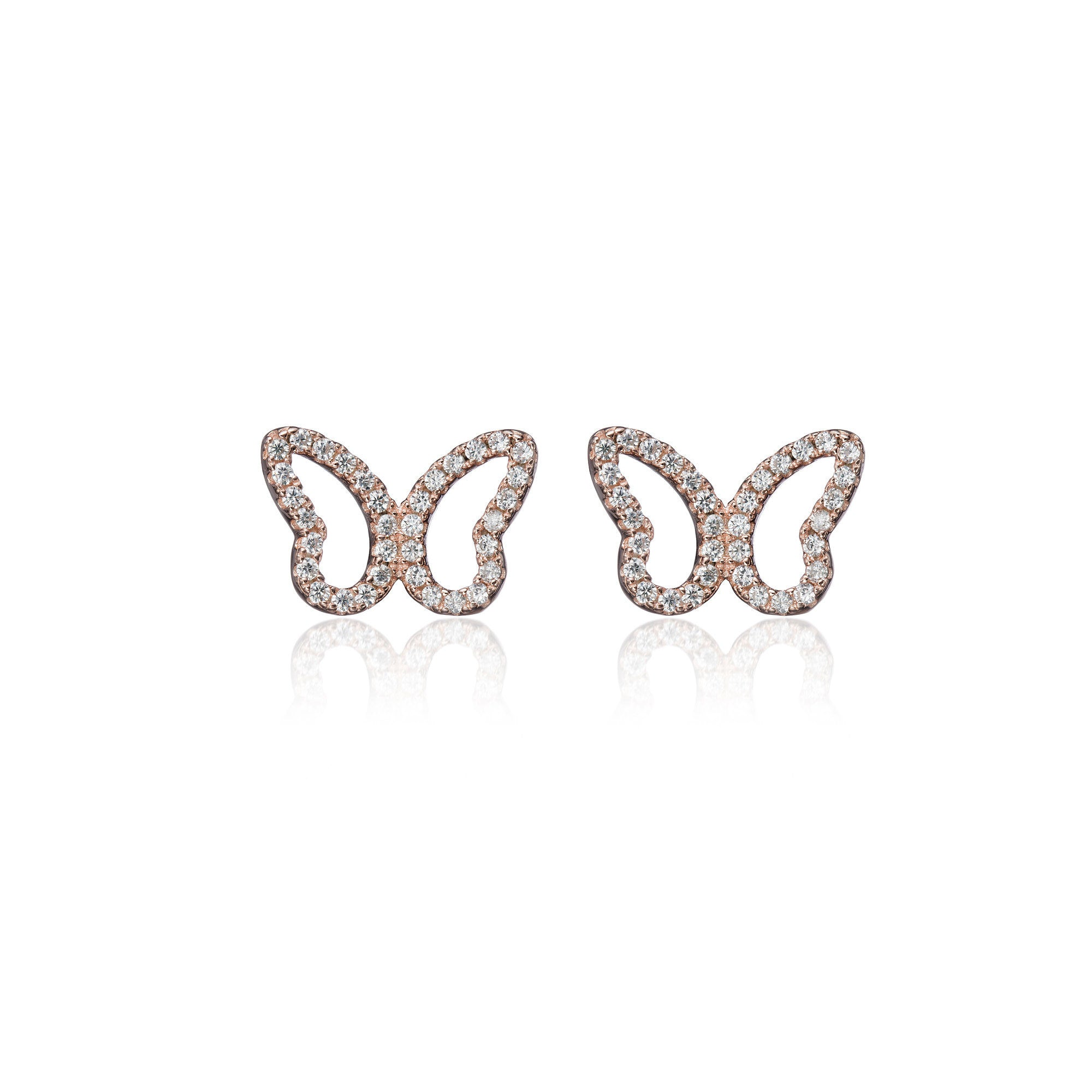 High Spirited Butterfly Earrings