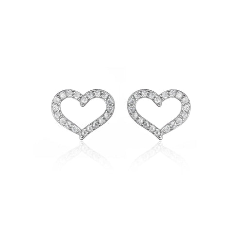 Allure Heart Earrings
