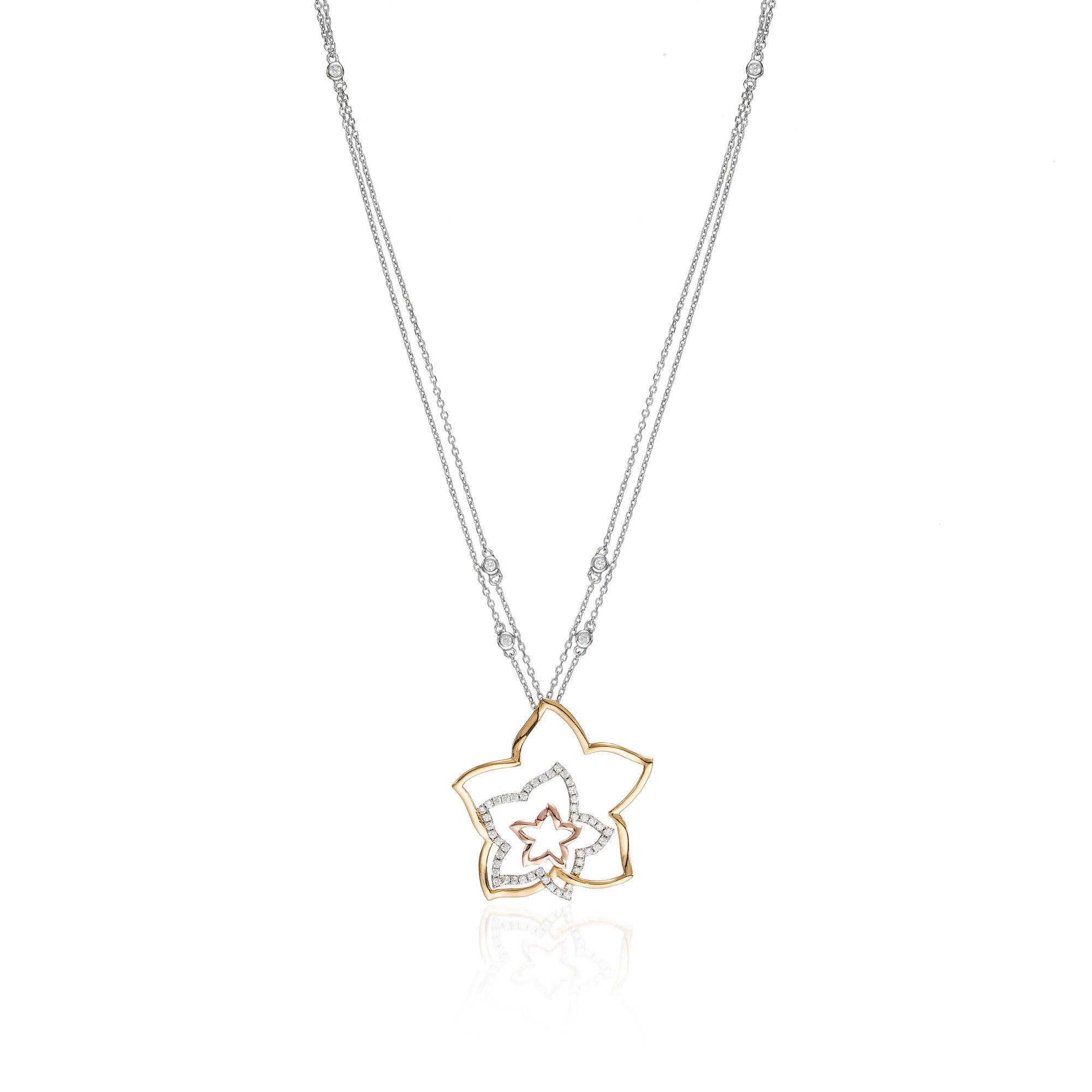 Three Star Purity Necklace