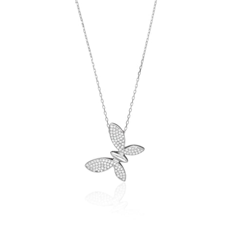 Exotic Butterfly Necklace