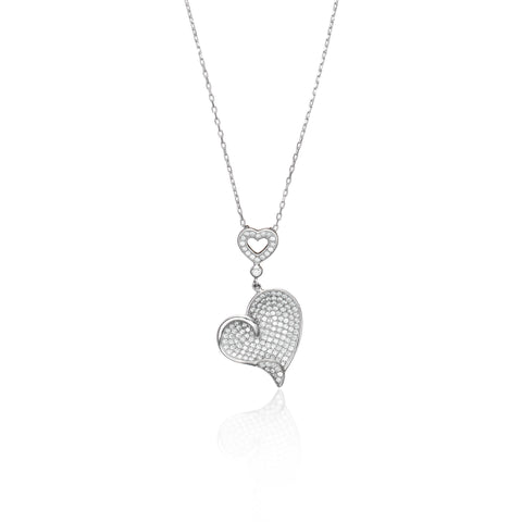 Glamour Heart Necklace