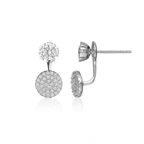 Halo Stud Earring Jacket