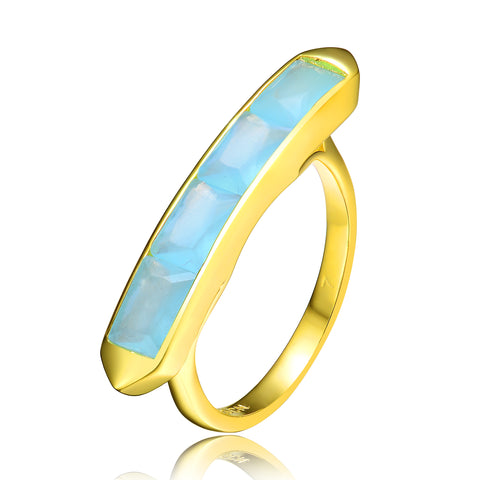 Coastal Azure Ring