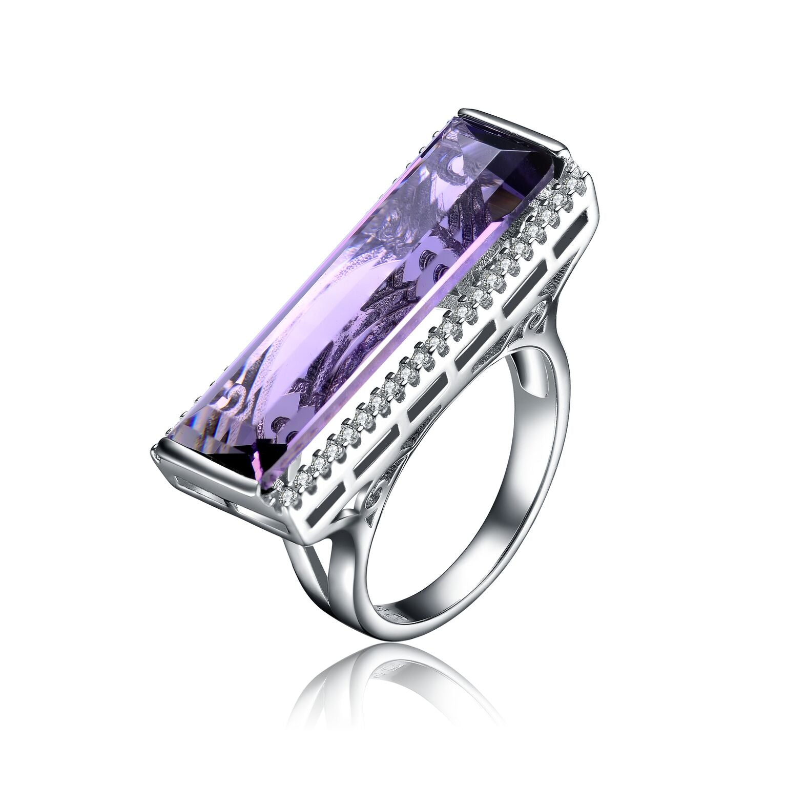 Lavender Goddess Ring