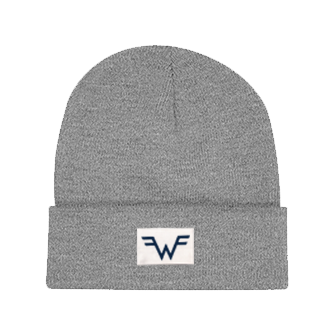 =w= Label Grey Beanie