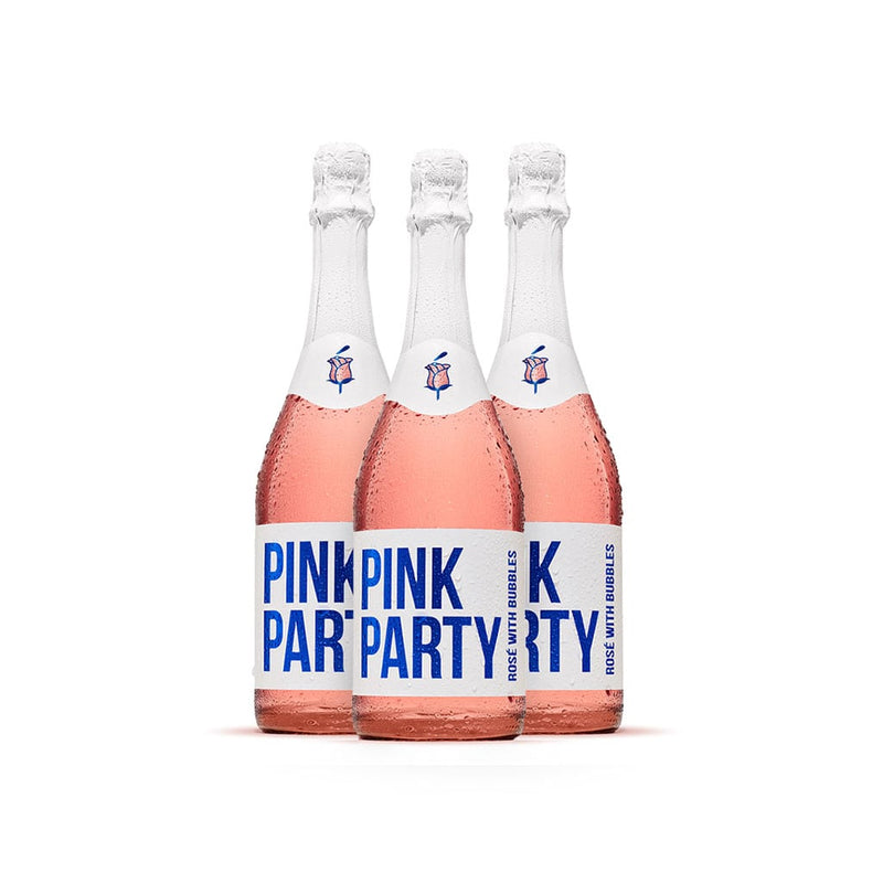 Pink Party Rosé With Bubbles - Case (12 bottles)