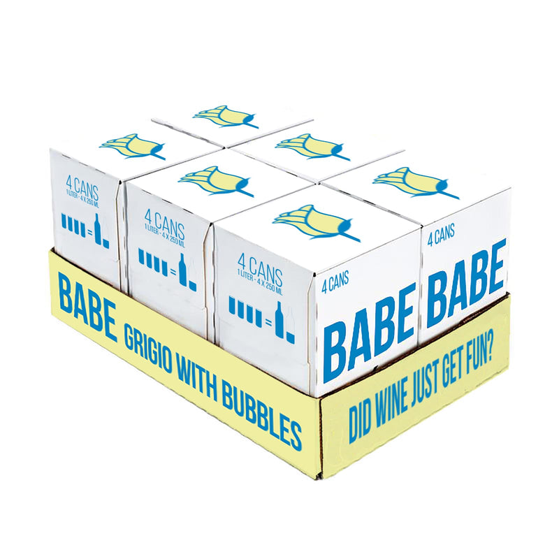 Babe Grigio with Bubbles - Case (24 Cans)