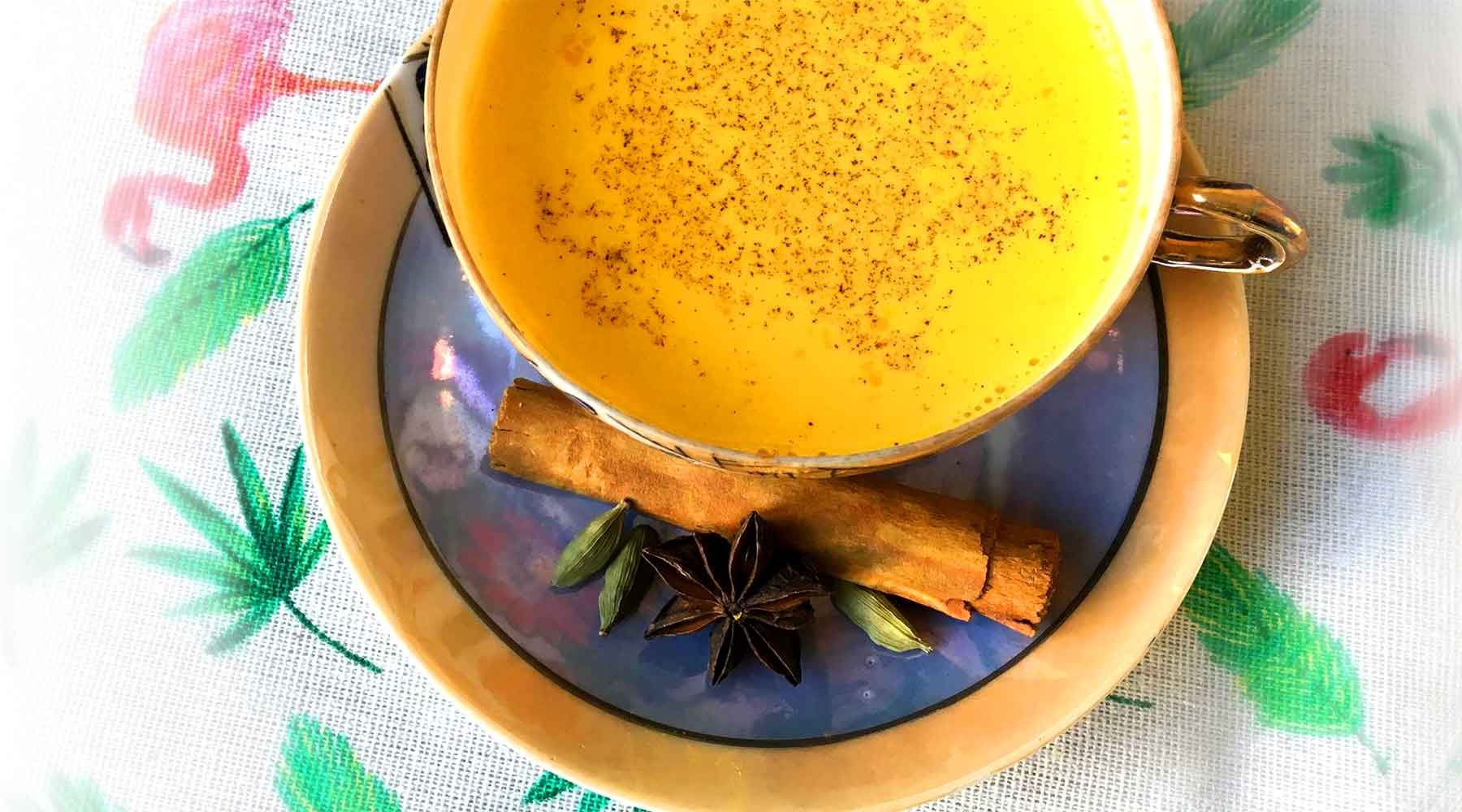 Organic Turmeric tea Golden Milk!