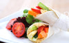 Carrot & Hummus Wraps