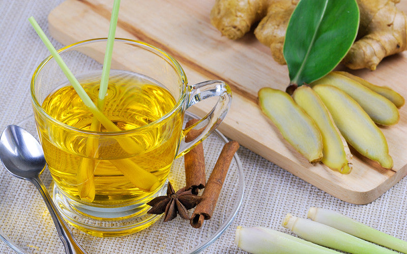 Benefits of Lemongrass and Pandan Tea