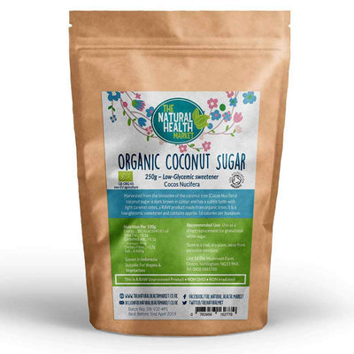 Organic Coconut Sugar 250g by The Natural Health Market