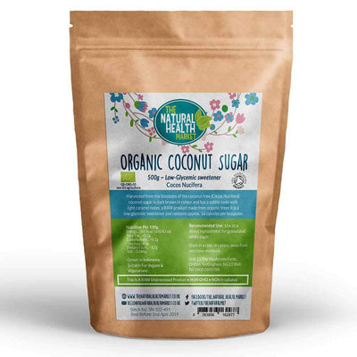 Organic Coconut Sugar 500g by The Natural Health Market