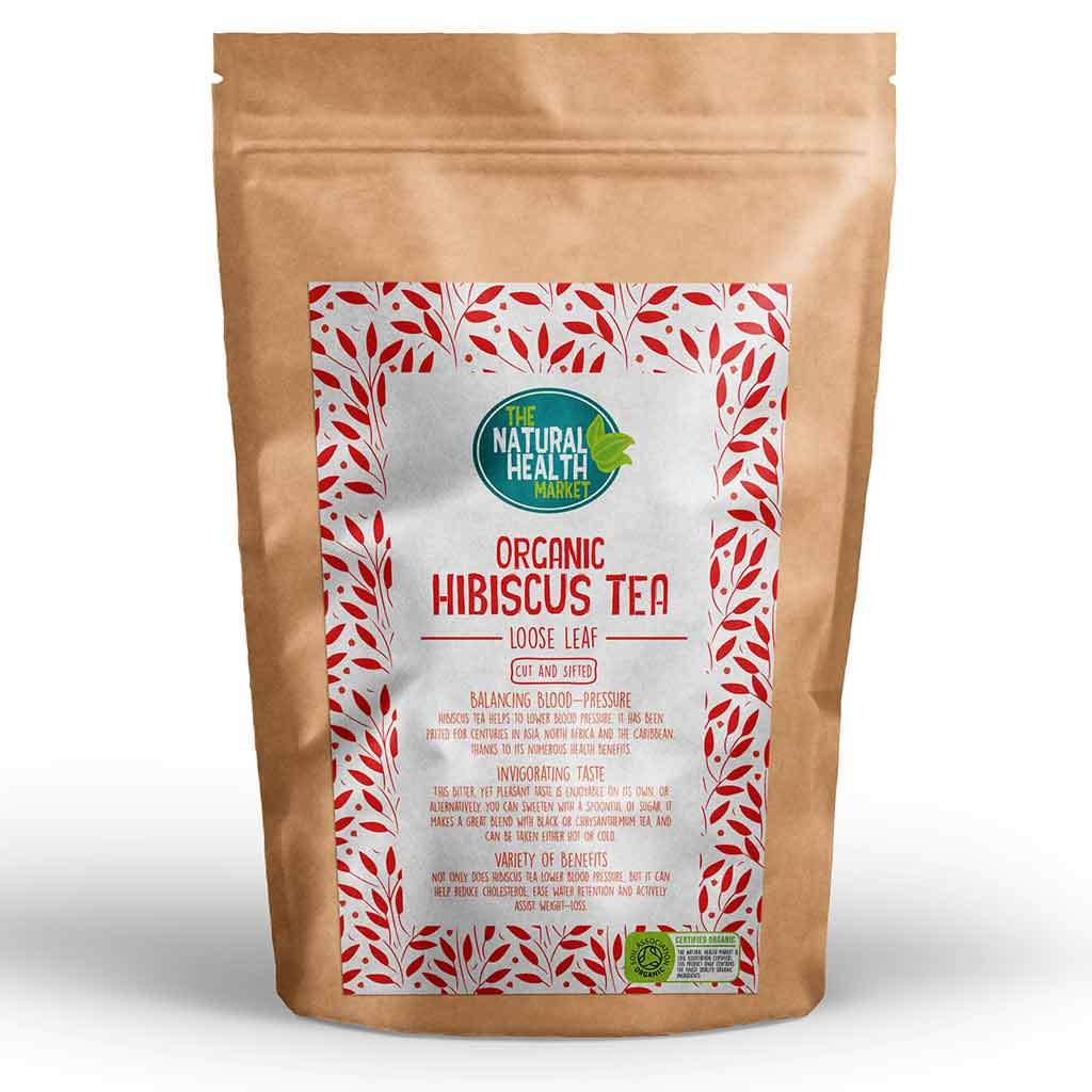 Organic Hibiscus Loose Tea By The Natural Health Market