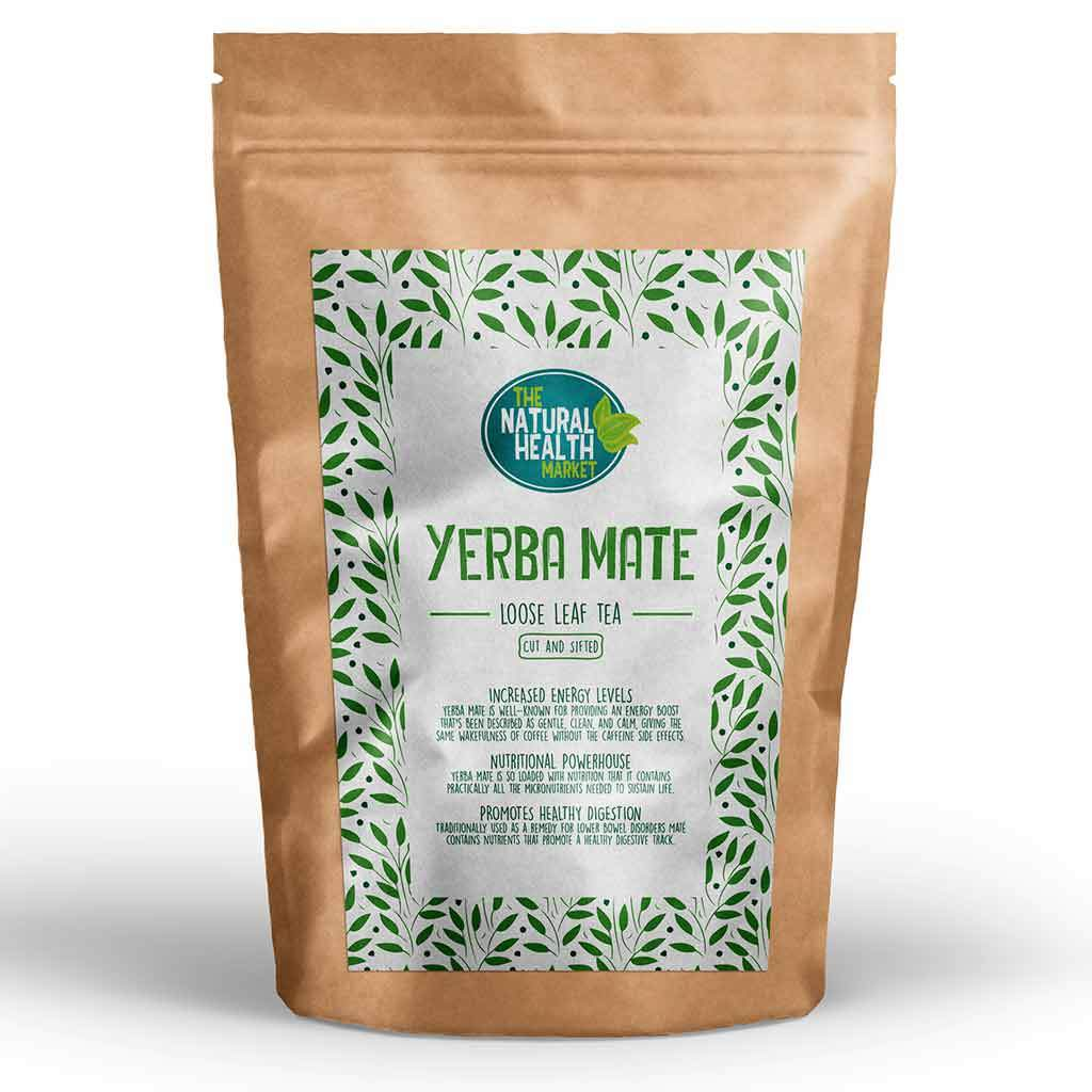 Yerba Mate Loose Leaf Tea By The Natural Health Market