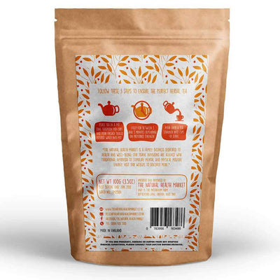 Rooibos Tea Loose Leaf 100g Redbush Tea By The Natural Health Market