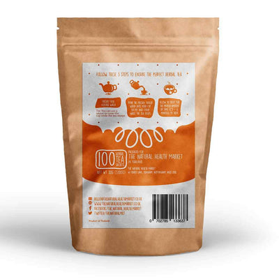 Rare Safflower Tea 100 Tea Bags By The Natural Health Market