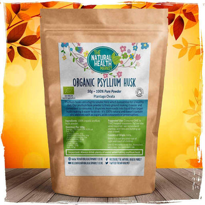 Organic Psyllium Husk Powder By The Natural Health Market
