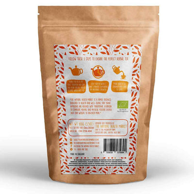 Organic Turmeric Root Tea (Curcuma Longa) 100g By The Natural Health Market