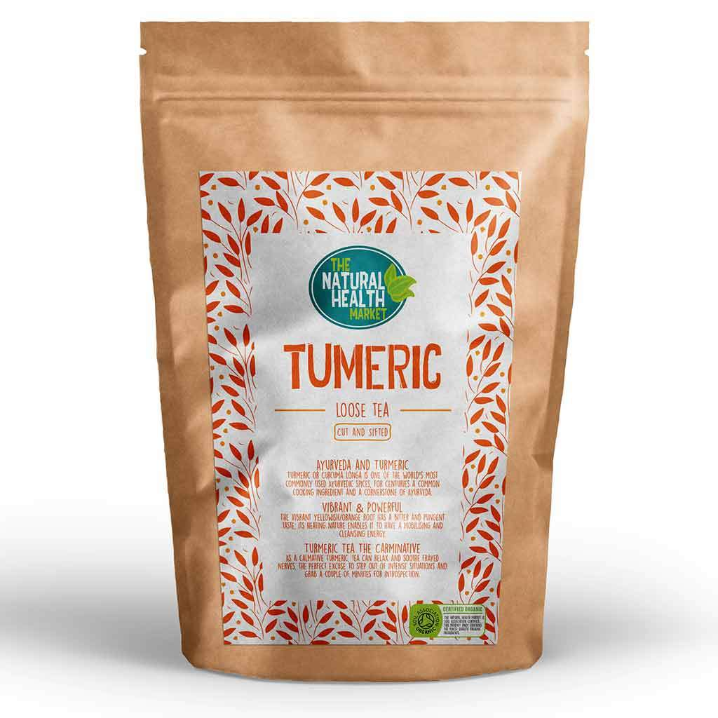 Organic Turmeric Tea - Loose Leaf