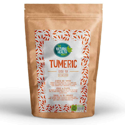 Organic Turmeric Root Tea (Curcuma Longa) By The Natural Health Market