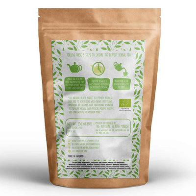 Organic ginger and lemongrass tea loose leaf 25g By The Natural Health Market