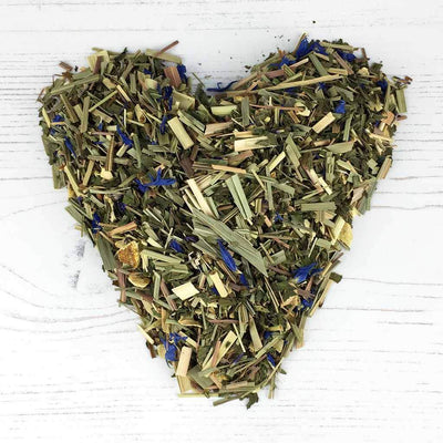 Organic ginger and lemongrass tea loose leaf Live By The Natural Health Market