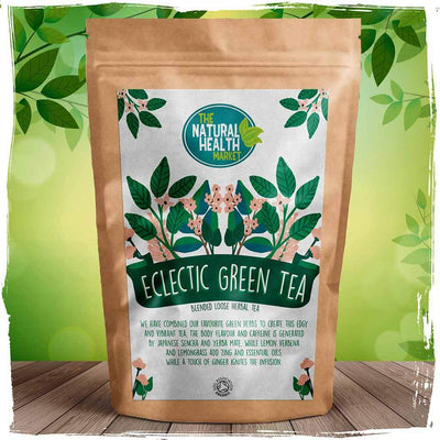 Organic eclectic green tea by The Natural Health Market