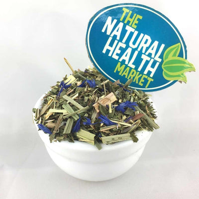 organic ginger and lemongrass herbal tea ingredients by The Natural Health Market