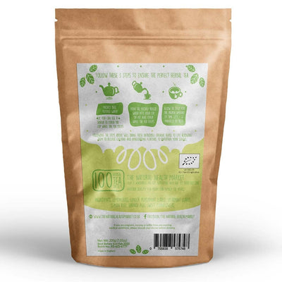 Organic ginger and lemongrass tea 100 Bags by The Natural Health Market