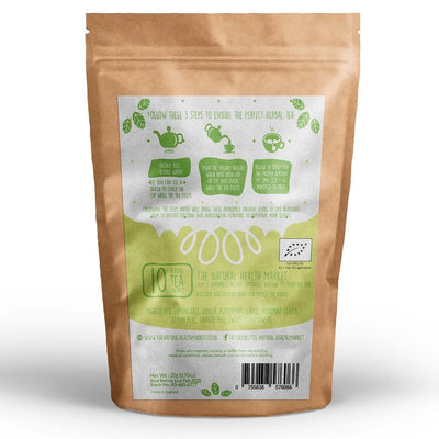 Organic ginger and lemongrass tea 10 Bags by The Natural Health Market