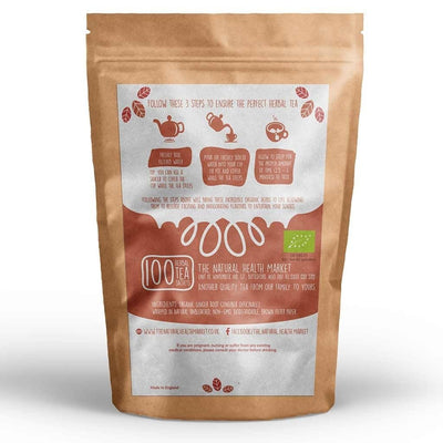 Organic ginger tea bags 100 by The Natural Health Market