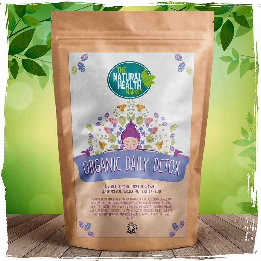 Organic daily detox tea by The Natural Health Market