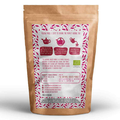Organic echinacea loose tea 100g by The Natural Health Market